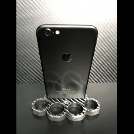 Carbon Skull-Knuckle iPhone Dock