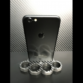 Carbon Skull-Knuckle iPhone 6 Dock